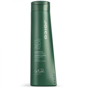 Bottle of Joico Body Luxe Volumizing Shampoo.