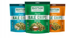 Rhythm Superfoods kale snacks.