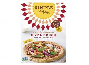 Simple Mills pizza dough mix.