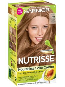 Box of Garnier Nutrisse Nourishing Color Creme.