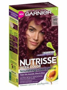 Box of Garnier Nutrisse Ultra Color.