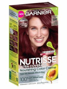 Box of Garnier Nutrisse Ultra Coverage.