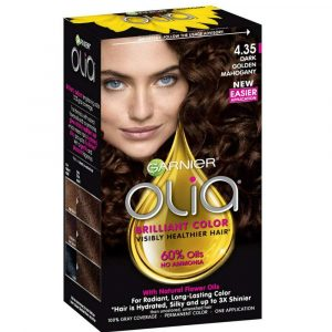 Box of Garnier Olia Hair Color.