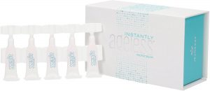 Box of Jeunesse Instantly Ageless with microcreams lined up.