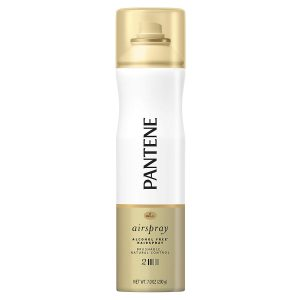 Spray bottle of Pantene Pro V Hairspray.