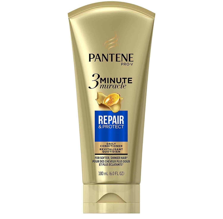Tube of Pantene 3 Minute Miracle Repair & Protect .