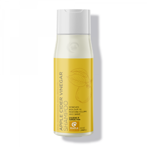 Bottle of Maple Holistics Apple Cider Vinegar Shampoo.