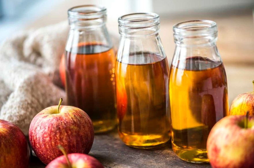 apples and apple cider vinegar.