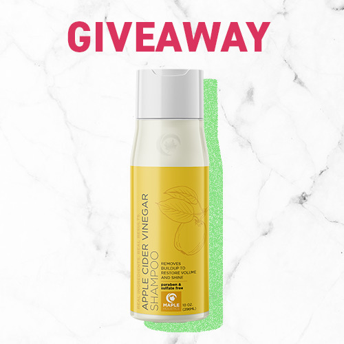 APPLE CIDER VINEGAR SHAMPOO #GIVEAWAY!Win a bottle of Maple Holistics' amazing ACV Shampoo for you and your tagged friends!➡️Follow our page➡️ Tag your squad (Each separate tag is an additional entry, so tag away!)➡️ Share this postWant a bonus entry? Comment with: My favorite ice cream flavor is____