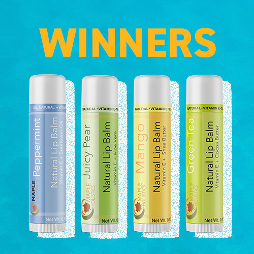 📣🎆Giveaway Winners!!🎆📣Congratulations to @nicolekristinee_xo and @crafty.momma.designs- you are the proud new owners of a fabulous Maple Holistics Lip Balm Set.PM us your address and your gift package will be 🚀 right on its way!
