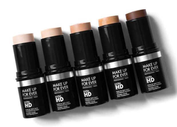 Bottle of Make Up For Ever Ultra HD Foundation Stick.