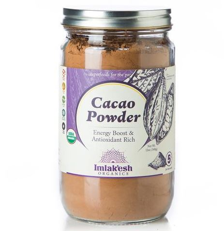 Jar of Imlak'esh Cacao Powder.
